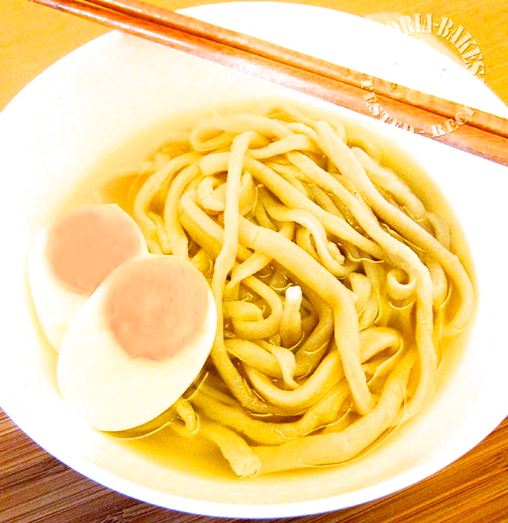 homemade udon noodles ~ chewwwieee 。 ‿ 。
