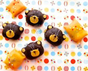 espesso chocolate mochi